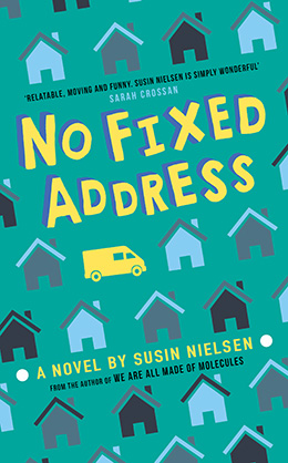 Win a Hardback copy of No Fixed Address!