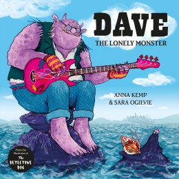 Win a hardback copy of Dave the Lonely Monster!