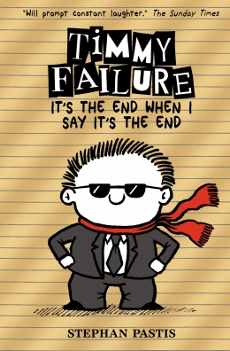 Win a Gold HARDBACK copy of Timmy Failure 7!
