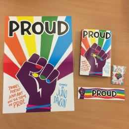 Win a SIGNED copy of Proud by Juno Dawson plus extra goodies!