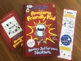 Win a hardback copy of Diary of an Awesome Friendly Kid!