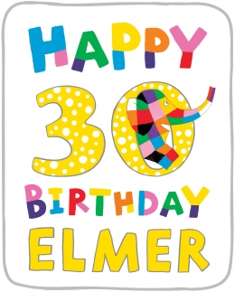 Win a SIGNED hardback copy of Elmer Anniversary Edition!