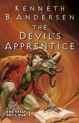 Win a copy of The Devil's Apprentice by Kenneth B Andersen
