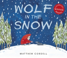 Win a copy of Wolf in the Snow by Matthew Cordell