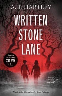 Win a copy of Written Stone Lane by A. J. Hartley