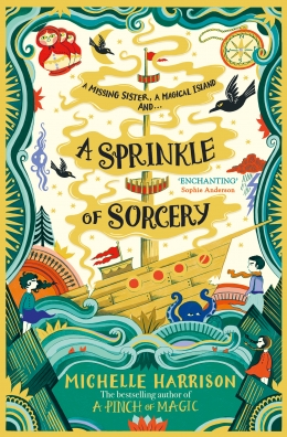 Win a copy of A Sprinkle of Sorcery and other treats!