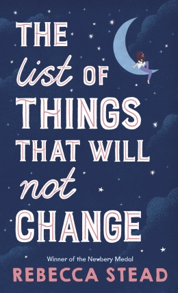 Win a copy of The List of Things That Will Not Change!