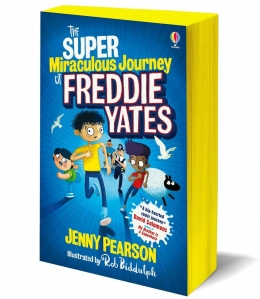 Win a copy of The Super-Miraculous Journey of Freddie Yates!