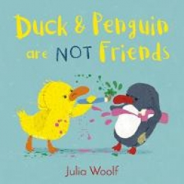 Win books 1&2 in the Duck and Penguin series by Julia Woolf!