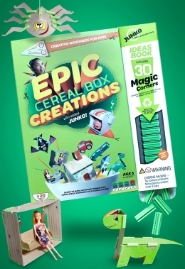 Win an Epic Cereal Box Creations Activity Book!