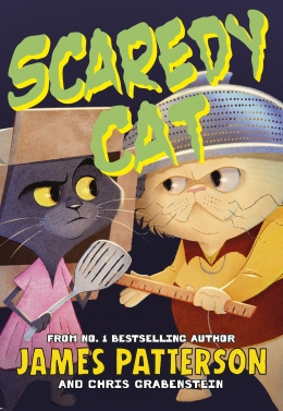 Win a copy of Scaredy Cat by James Patterson!