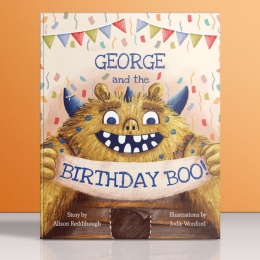 Win a HARDCOVER PERSONALISED book from Tickled Moon!
