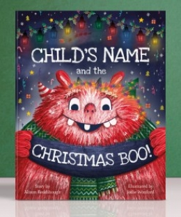 Win a HARDCOVER PERSONALISED Christmas book from Tickled Moon!