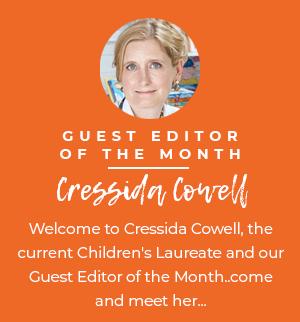 Guest Editor Cressida Cowell