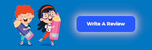 Write a review small banner