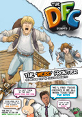 the dfc comic cover