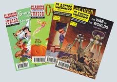 Classics Illustrated spread