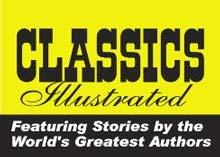 classics illustrated cover logo