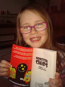evie monster and chips review