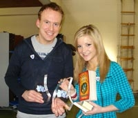 Matt Haig winning blue peter award