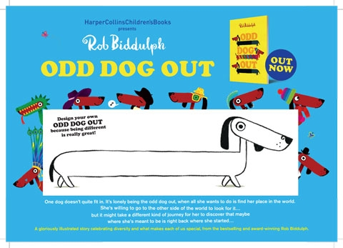 odd dog activity sheet