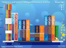 bilingual dictionary selector