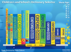 oup dictionary selector