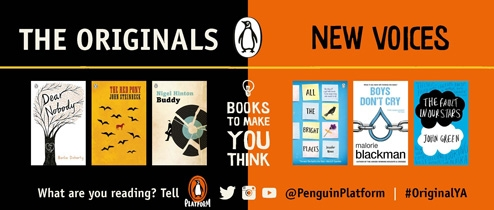 Books to make you think banner