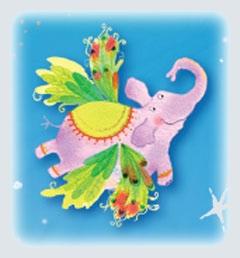 usborne pink elephant