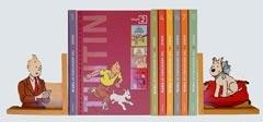 tintin bookshelf