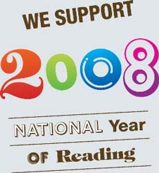 We support the National Year of Reading