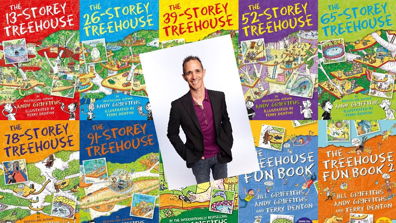 Q&A With Treehouse Author Andy Griffiths