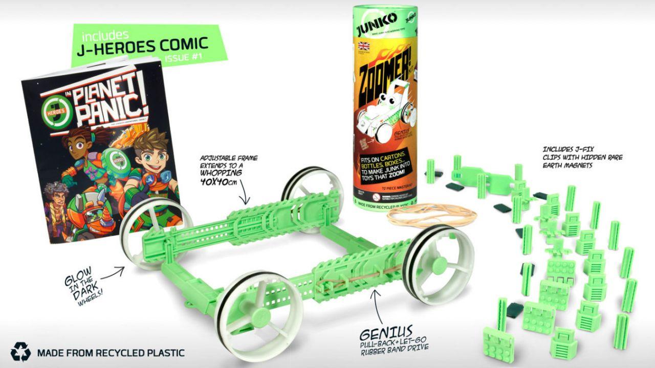 Win a JUNKO, the super-creative eco-friendly toy!