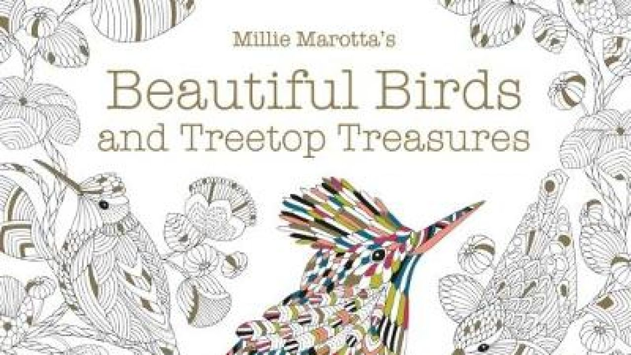 Beautiful colouring downloads from Millie Moratta
