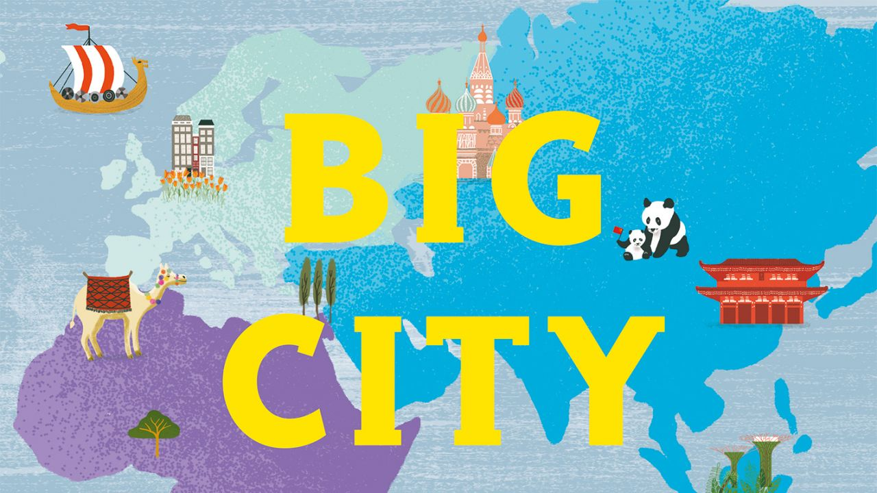 Big City Atlas Activity Fun!