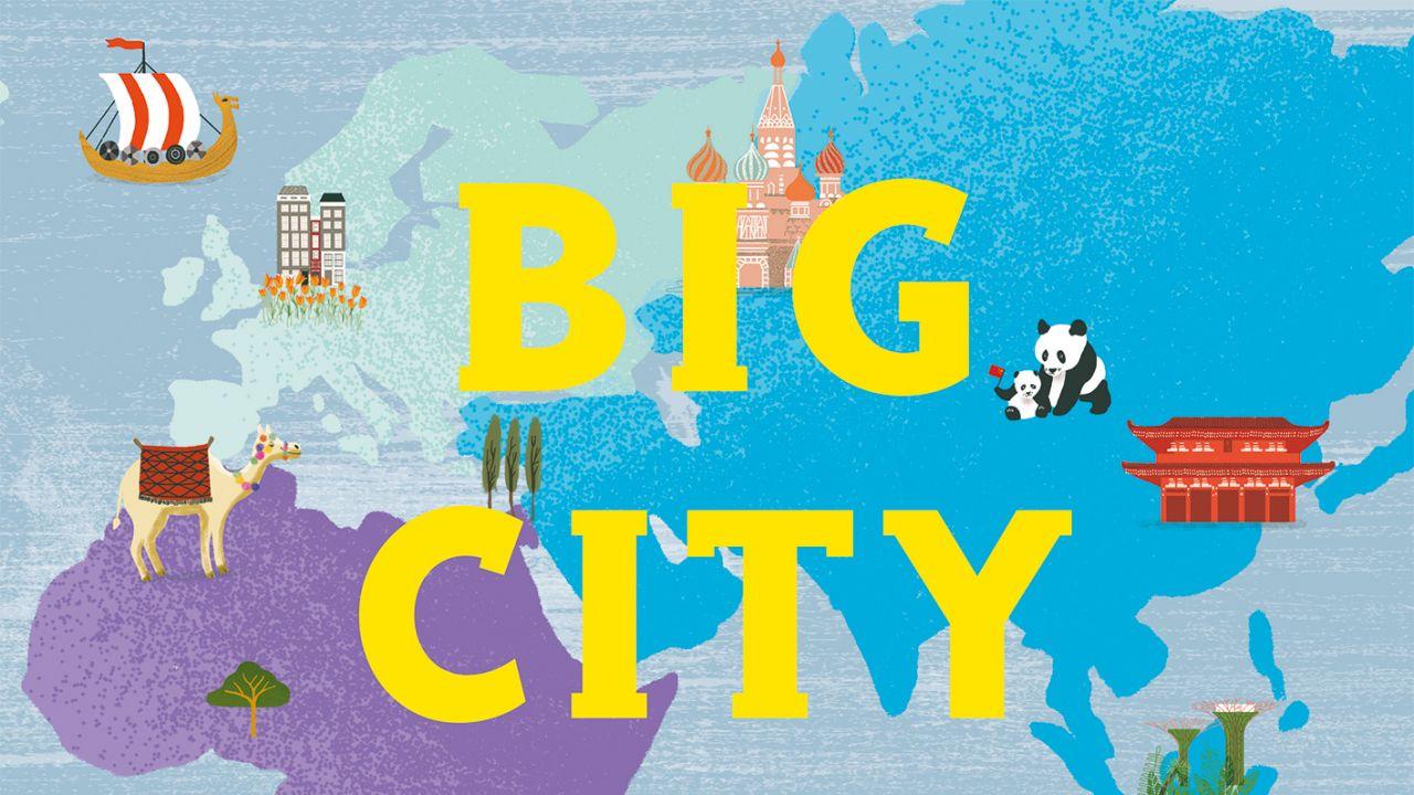 Big City Atlas Activity Fun!