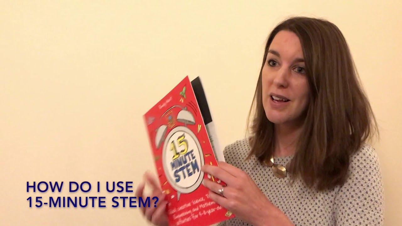An introduction to 15-Minute STEM from the author, Emily Hunt