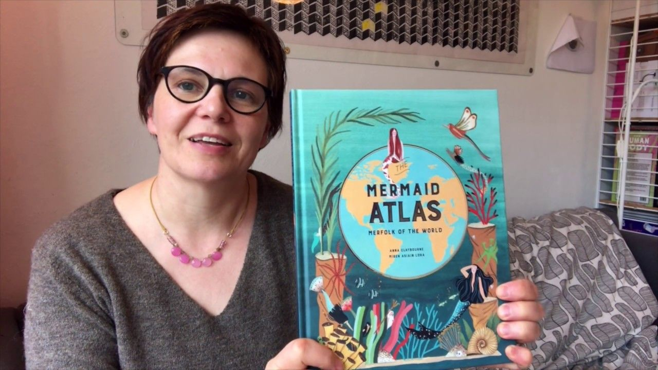 Anna Claybourne reads The Mermaid Atlas