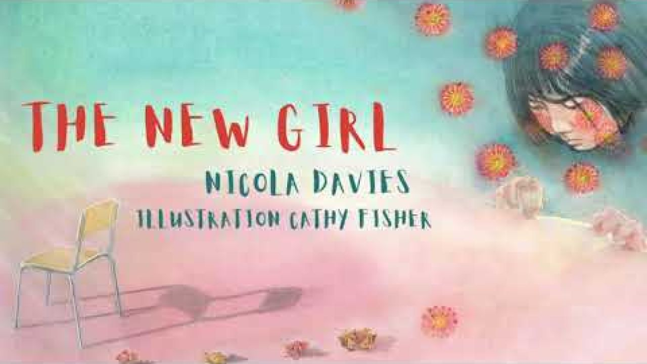 Hear the first few pages from The New Girl, read by the author