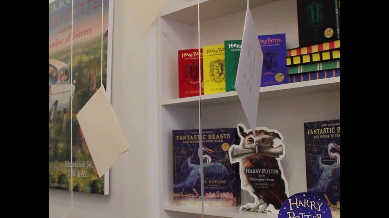 How to make Owl Post for Harry Potter Book Night