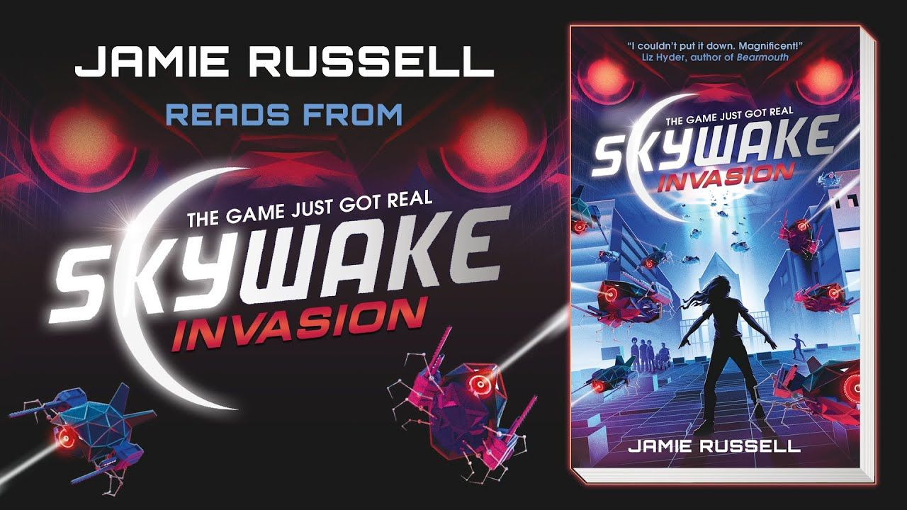 Jamie Russell reads the first chapter of SkyWake: Invasion