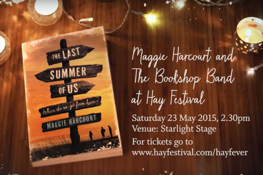 Maggie Harcourt and The Bookshop Band