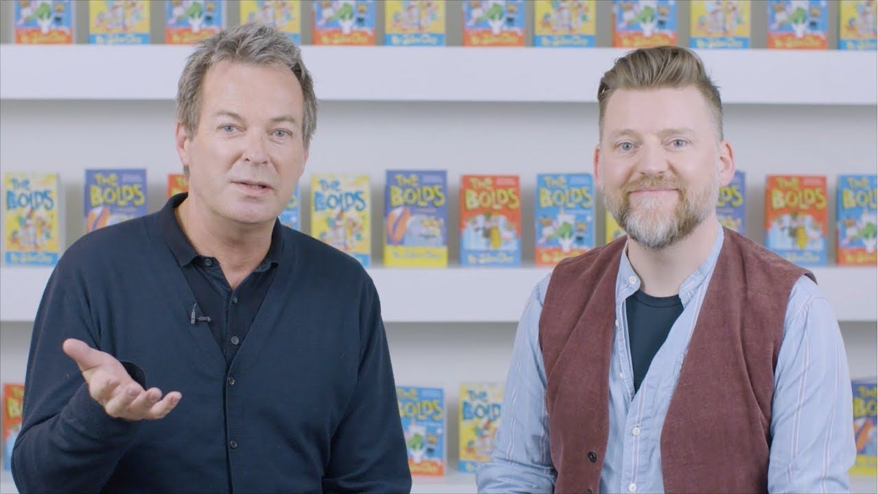 The Bolds Go Wild by Julian Clary and David Roberts