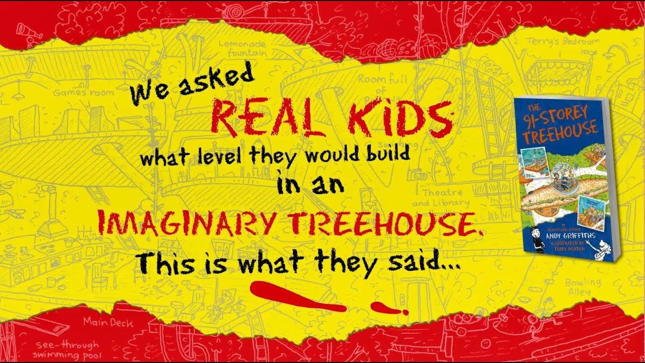 What level would kids build in an imaginary Treehouse to?